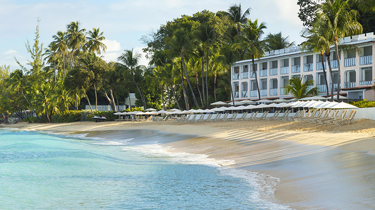 fairmont royal pavilion barbados beach view