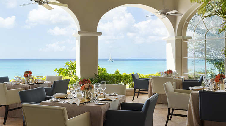 fairmont royal pavilion barbados palm terrace