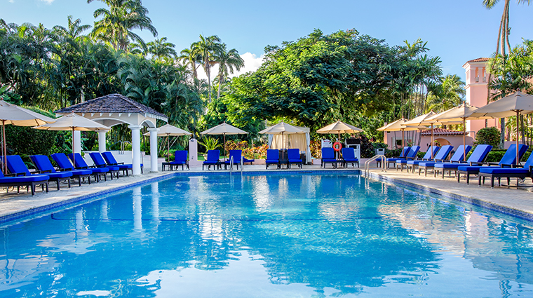 fairmont royal pavilion barbados pool