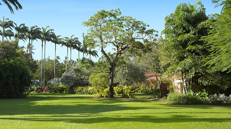 fairmont royal pavilion barbados tropical garden