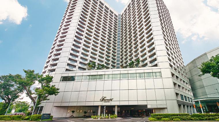 fairmont singapore facade