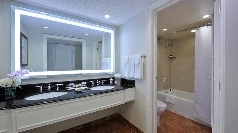 fairmont southampton renovated bathroom