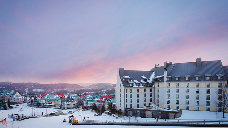 Fairmont Tremblant winter hotel