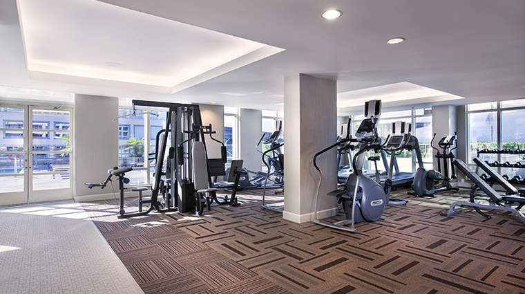 fairmont waterfront vancouver fitness center