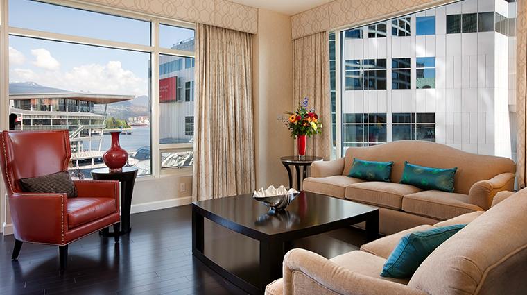 fairmont waterfront vancouver garden suite
