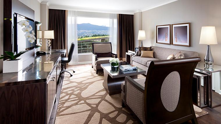 fairmont waterfront vancouver gold suite