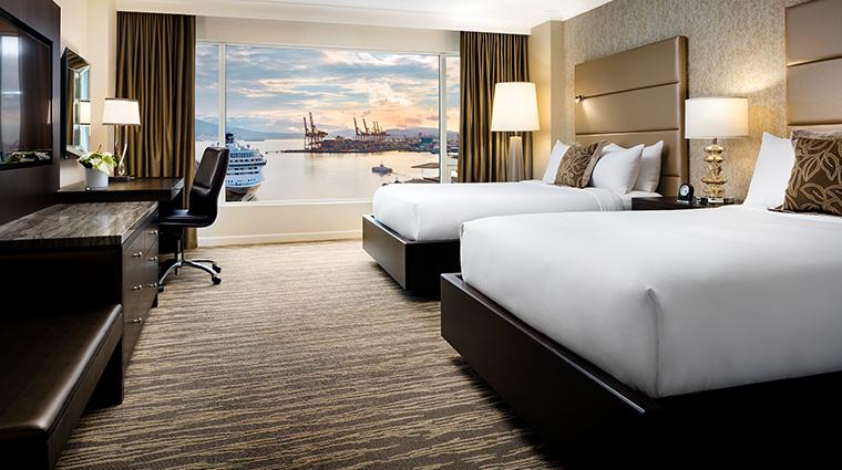 fairmont waterfront vancouver signature harbour double