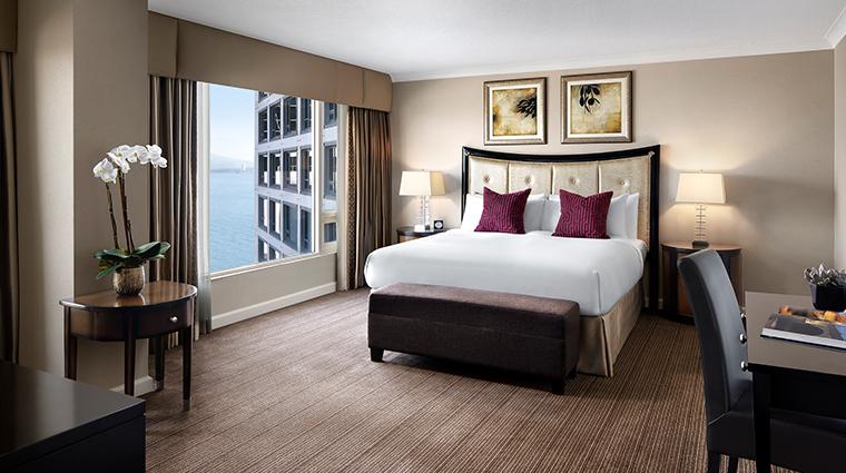 fairmont waterfront vancouver stanley park suite bedroom