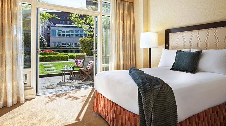 fairmont waterfront vancouver terrace suite
