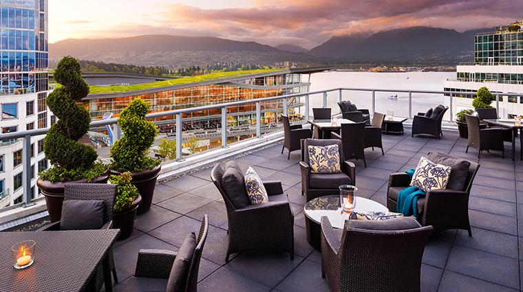 fairmont waterfront vancouver terrace