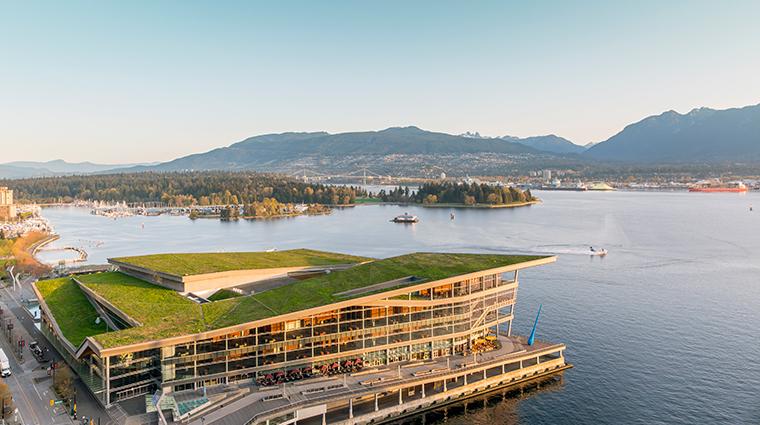 fairmont waterfront vancouver view