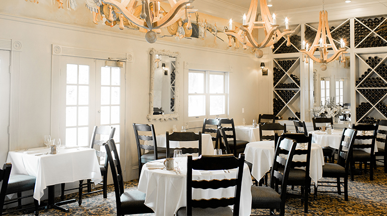 farmhouse inn restaurant interior
