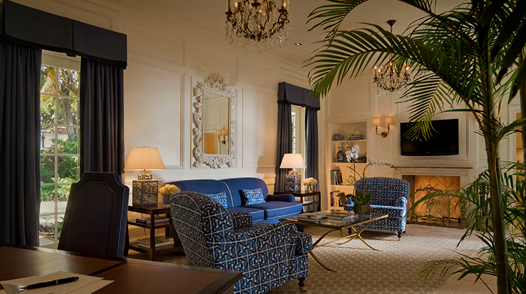 fisher island hotel and resort rosemarys cottage living room