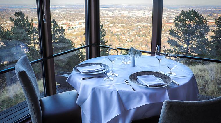 flagstaff house restaurant table