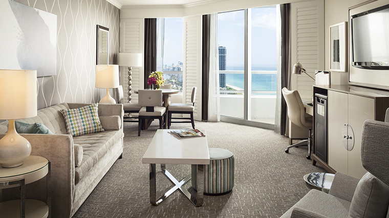 Fontainebleau Miami Beach living room