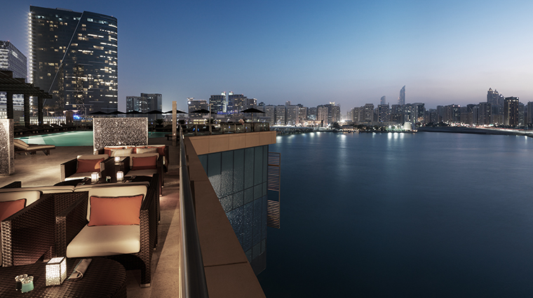four seasons hotel abu dhabi at al maryah island Eclipse Terrace Lounge