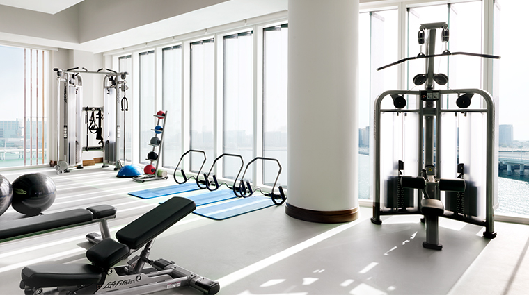 four seasons hotel abu dhabi at al maryah island gym