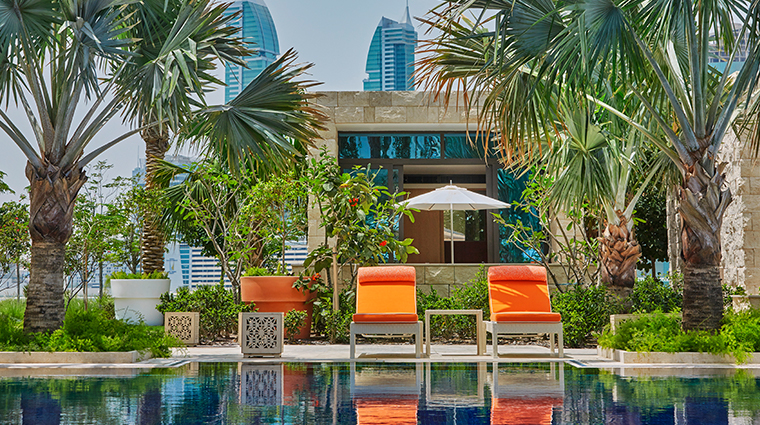 four seasons hotel bahrain bay AZURE pool