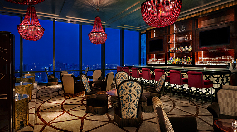 four seasons hotel bahrain bay blue moon lounge