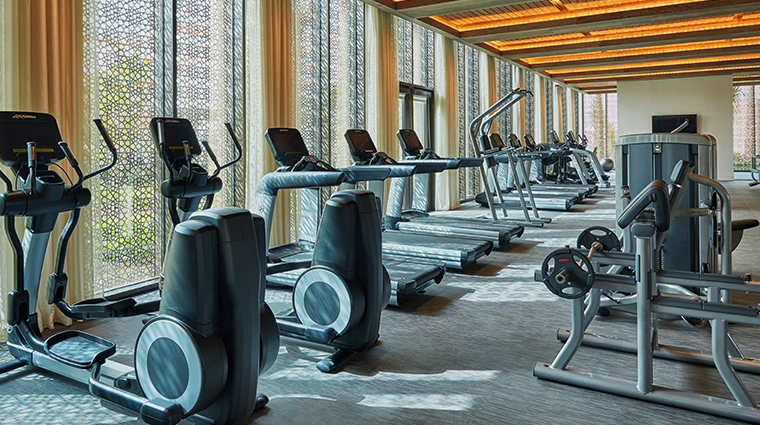 four seasons hotel bahrain bay fitness center