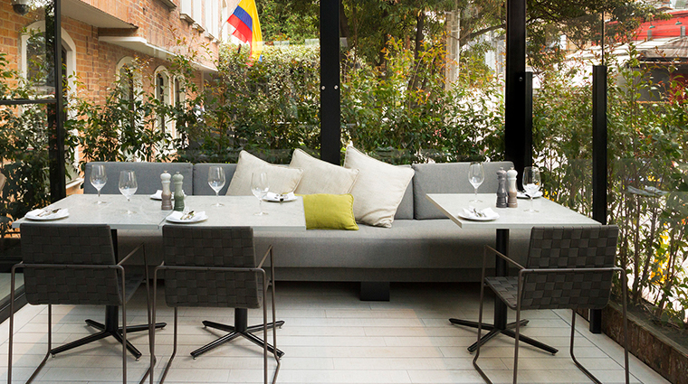 four seasons hotel bogota restaurant patio