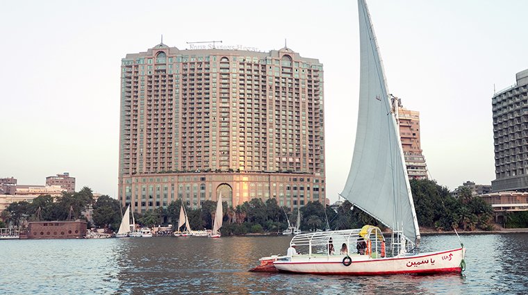 four seasons hotel cairo at nile plaza exterior