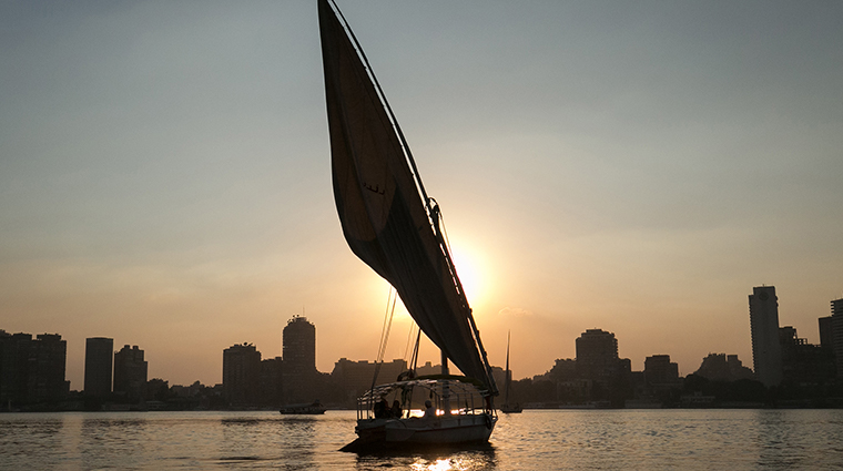 four seasons hotel cairo at nile plaza felucca experience