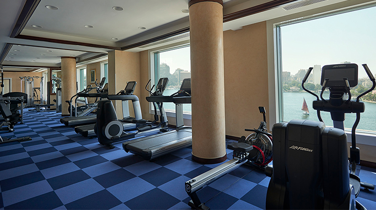 four seasons hotel cairo at nile plaza fitness center