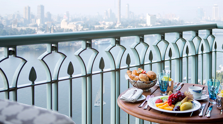 four seasons hotel cairo at nile plaza nile view room balcony