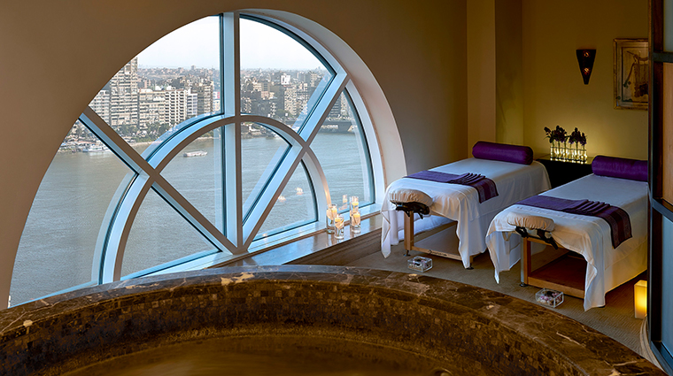 four seasons cairo at the first residence spa treatment room