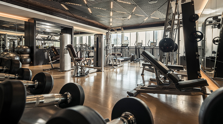four seasons hotel dubai international financial centre fitness center