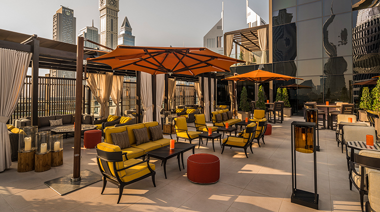 four seasons hotel dubai international financial centre rooftop lounge