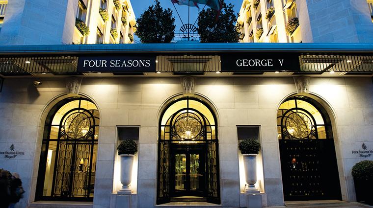 four seasons hotel george v paris exterior