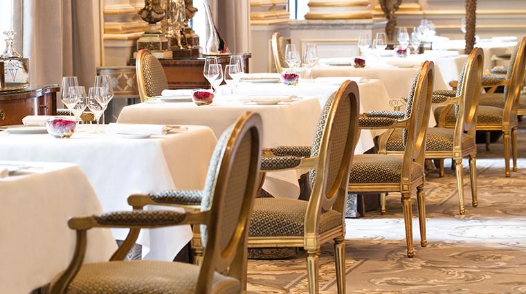 four seasons hotel george v paris le cinq dinging room