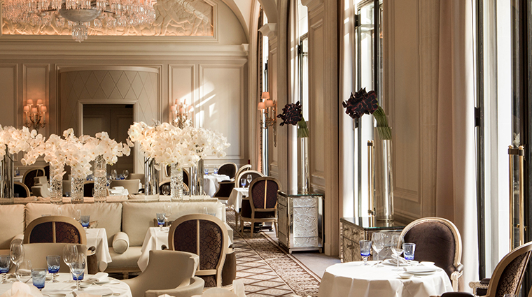 four seasons hotel george v paris le george dining room