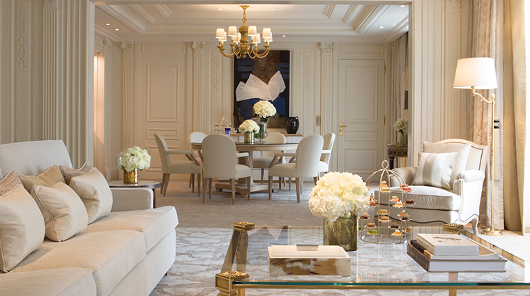 four seasons hotel george v paris presidential suite living room