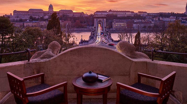 four seasons hotel gresham palace budapest royal suite terrace