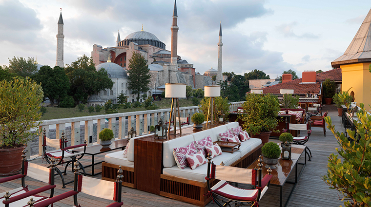 four seasons hotel istanbul at sultanahmet rooftop