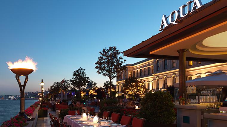 four seasons hotel istanbul at the bosphorus Aqua exterior