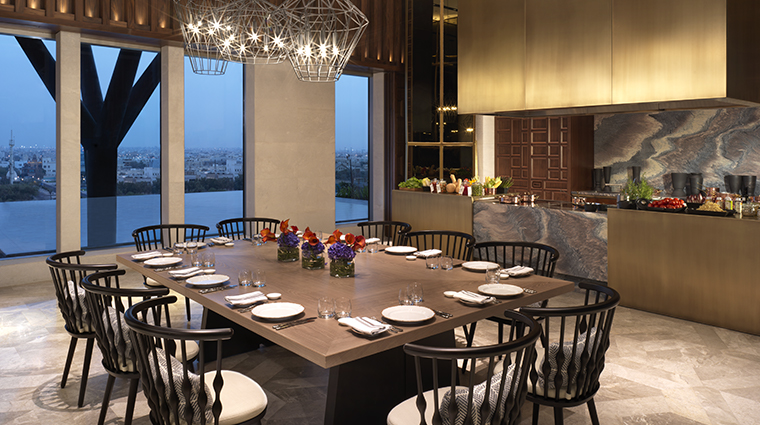 four seasons hotel kuwait at burj alshaya Elements private dining room