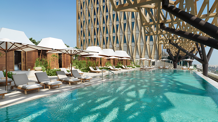 four seasons hotel kuwait at burj alshaya outdoor pool