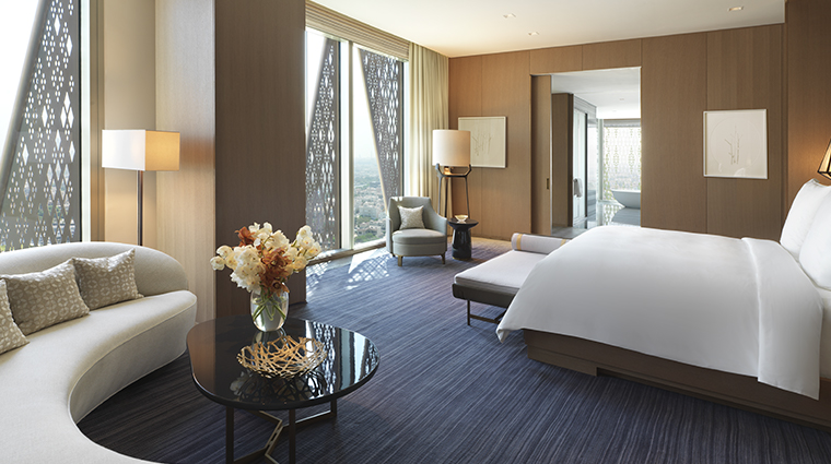 four seasons hotel kuwait at burj alshaya royal suite bedroom