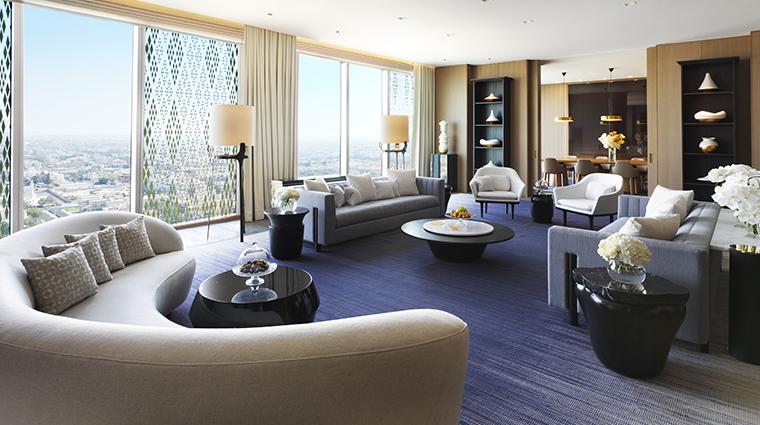 four seasons hotel kuwait at burj alshaya royal suite living room