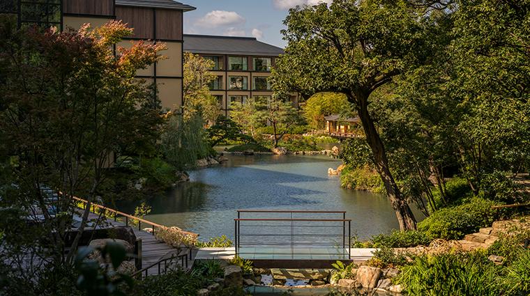 four seasons hotel kyoto Shakusuien Garden