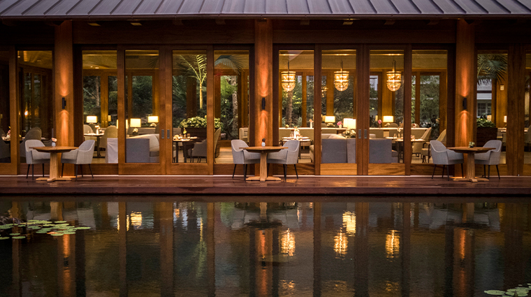sensei lanai a four seasons resort dining exterior shot