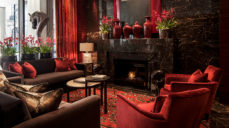 four seasons hotel london at park lane fireplace