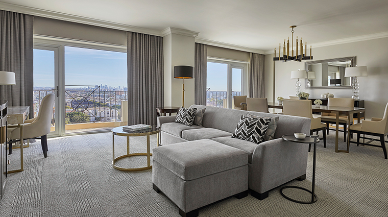 four seasons hotel los angeles at beverly hills living and dining