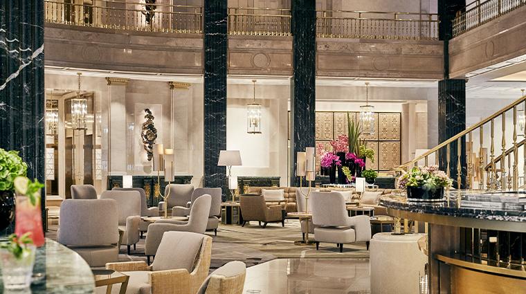 four seasons hotel madrid lobby