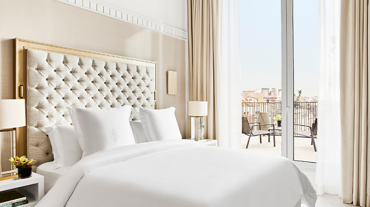 four seasons hotel madrid terrace suite