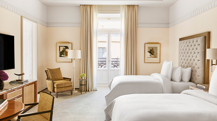 four seasons hotel madrid twin beds